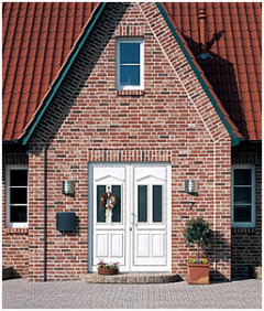 Individuelle Haustüren aus Aluminium